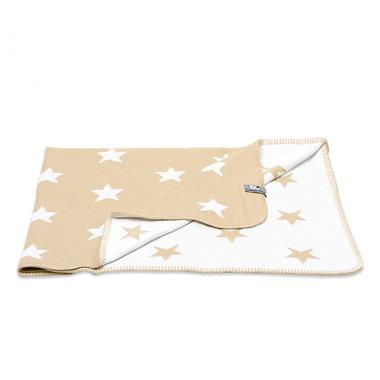 Baby's Only, Star Kocyk niemowlęcy dwustronny, 95x70cm, Beżowy/Biały
