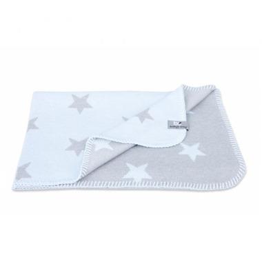 Baby's Only, Star Kocyk niemowlęcy dwustronny, 95x70cm, Błękitny/Szary