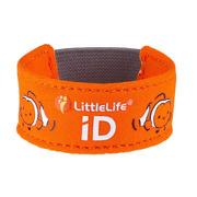 LittleLife, Neoprenowa opaska informacyjna ID - Rybka Nemo