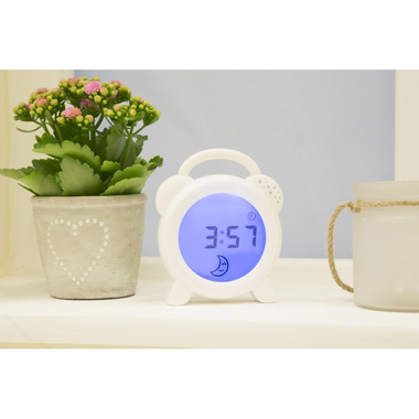 Koo-di, Zegar do nauki snu - Snoozee Sleep Trainer & Clock Purflo
