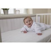 Koo-di, Oddychający ochraniacz do łóżeczka Pur Air PurFlo - Soft Truffle