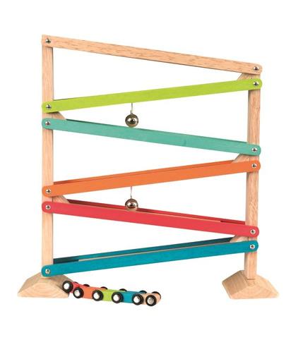 Egmont Toys, Drewniana zjeżdżalnia - 5 kolorów