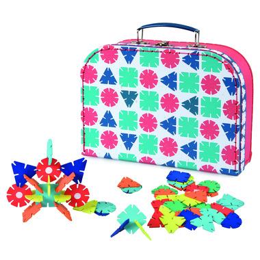 Egmont Toys, Zestaw klocków drewnianych w walizce