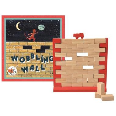 Egmont Toys, Gra drewniana CHWIEJNY MUR
