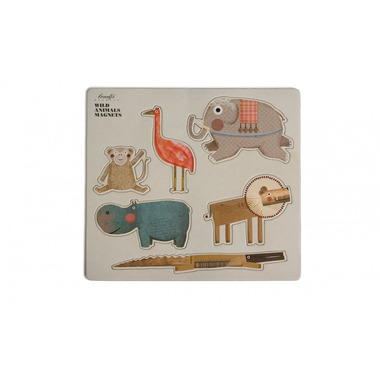 Londji, Wild Animals magnets