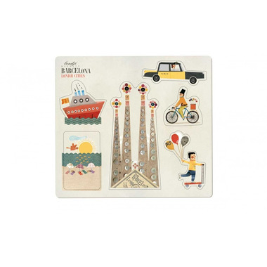 Londji, Barcelona Magnets