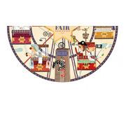 Londji, Fun Fair Round Puzzle 36