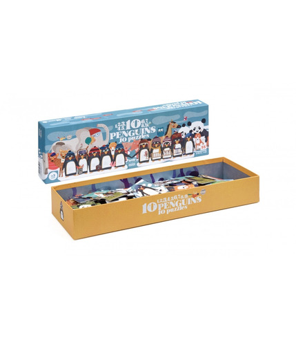 Londji, 10 Penguins Puzzle