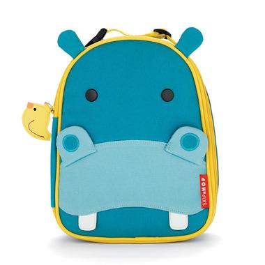 Skip Hop, torba na podwieczorek Hipopotam- Lunch Box