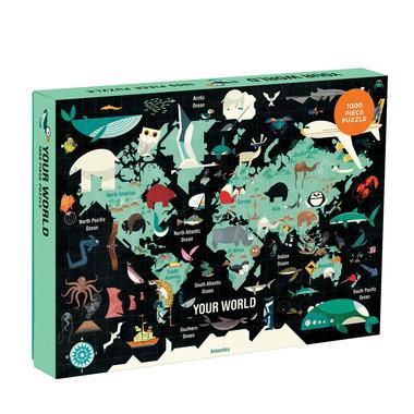 Mudpuppy, Puzzle rodzinne Twój Świat 1000 elementów 8+