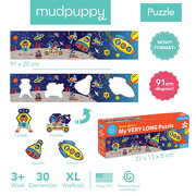 Mudpuppy, Metrowe puzzle Kosmos 30 elementów 3+
