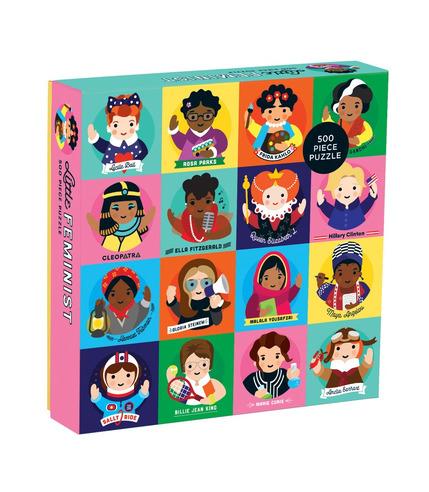 Mudpuppy, Puzzle rodzinne Niezwykłe kobiety 500 elementów 8+