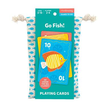 Mudpuppy, Gra karciana Na ryby! w podróżnym opakowaniu 3+