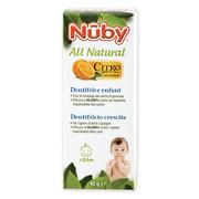 Nuby, pasta do zębów z naturalnych składników