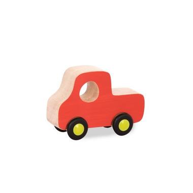 Btoys, Drewniane mini autko Free Wheee-lees ciężarówka