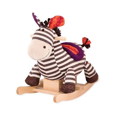 Btoys, Rodeo Rocker Kazoo - zebra na biegunach