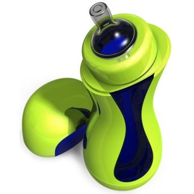 Samopodgrzewająca się butelka iiamo go - zielono-niebieska