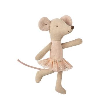 Maileg, Myszka - Ballerina Mouse, Little sister