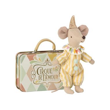 Maileg, Myszka - Klaun z walizką, Mouse