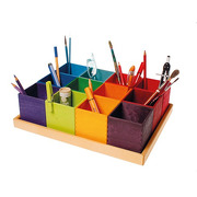 Grimm's, Zestaw kolorowych pudełek do sortowania, 3+