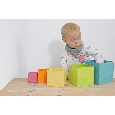 Grimm's, Zestaw pudełek pastelowych  0+