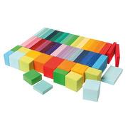 Grimm's, Geometryczne kolorowe klocki 74 el
