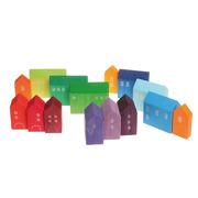 Grimm's, Zestaw tęczowych domków ręcznie malowanych