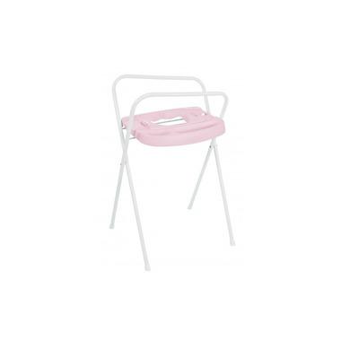 Bebe-jou, Stojak do wanienki z systemem Click Różowy 98 cm