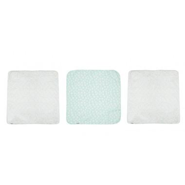 Bebe-jou, Otulacze średnie 70 x 70cm Confetti Party (3 sztuki)