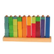 Grimm's, Kolorowe klocki do zabawy w liczenie