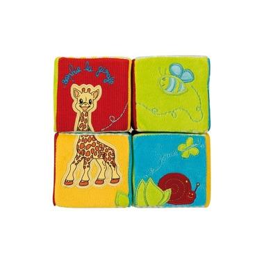 Materiałowe kostki puzzle z Sophie