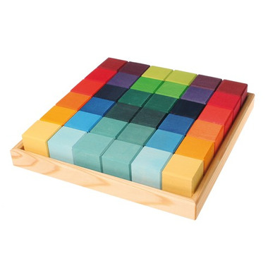 Grimm's, Kolorowe kostki w pudełku 36-el