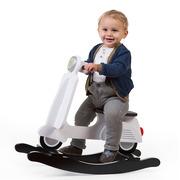 Childhome, Bujak skuter biało-czarny