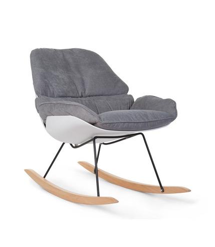Childhome, Fotel bujany Lounge White Grey