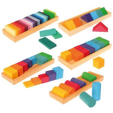 Grimm's, Zestaw do budowania kształtów i kolorów, 3+