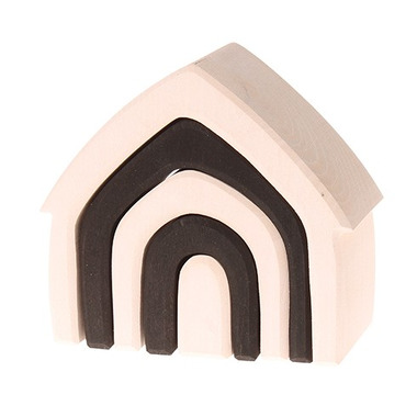 Grimm's, Czarno-biały domek, kolekcja naturalna, 1+