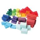 Grimm's, Kolorowe klocki geometryczne 60-el. 1+