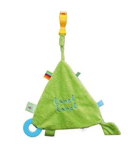 Stars Szeleszczący trójkąt z gryzakiem Blue/Green