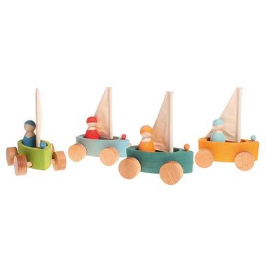 Grimm's, Zestaw 4 małych jachtów, 1+
