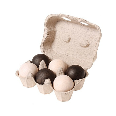 Grimm's, Czarno-białe kulki, kolekcja naturalna, 1+