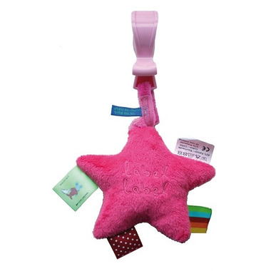 Stars Zawieszka wibrująca Pink/Fuchsia METKI