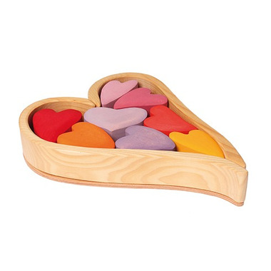 Grimm's, Zestaw do budowania czerwone serca 1+