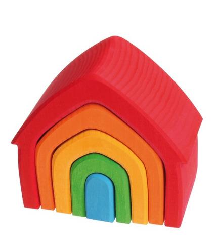 Grimm's, Kolorowy dom 5-elementowy 1+