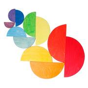 Grimm's, Duże kolorowe półokręgi, 11-el. 1+