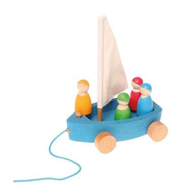 Grimm's, Duży jacht z 4 żeglarzami 0+