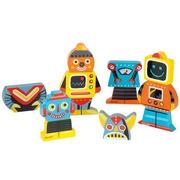 Janod, zabawne magnesy układanka roboty