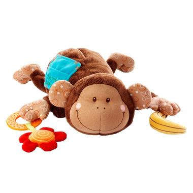 Lilliputiens, małpa Basile Muzyczna przytulanka pozytywka