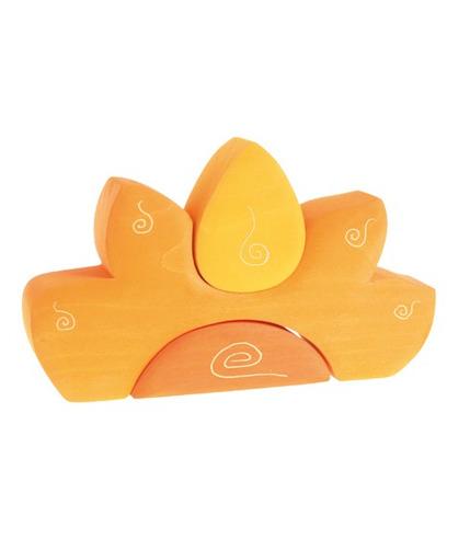 Grimm's, Kształty słoneczne kolor żółty, 1+