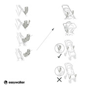 Easywalker, Mosey+ Adapter do fotelika samochodowego do wózka