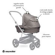 Easywalker, Harvey Gondola do wózka Steel Grey